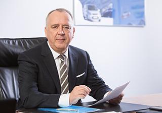 Gunnar Herrmann, Vorsitzender der Geschäftsführung, Ford-Werke GmbH, und Vice President Quality, Ford of Europe